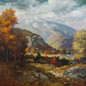 Mt. Washington Valley in the Fall - original art